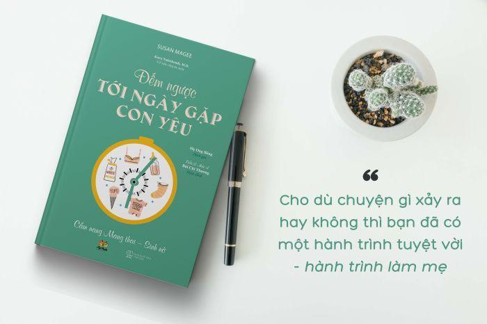 Sách thai giáo Đếm Ngược Tới Ngày Gặp Con Yêu