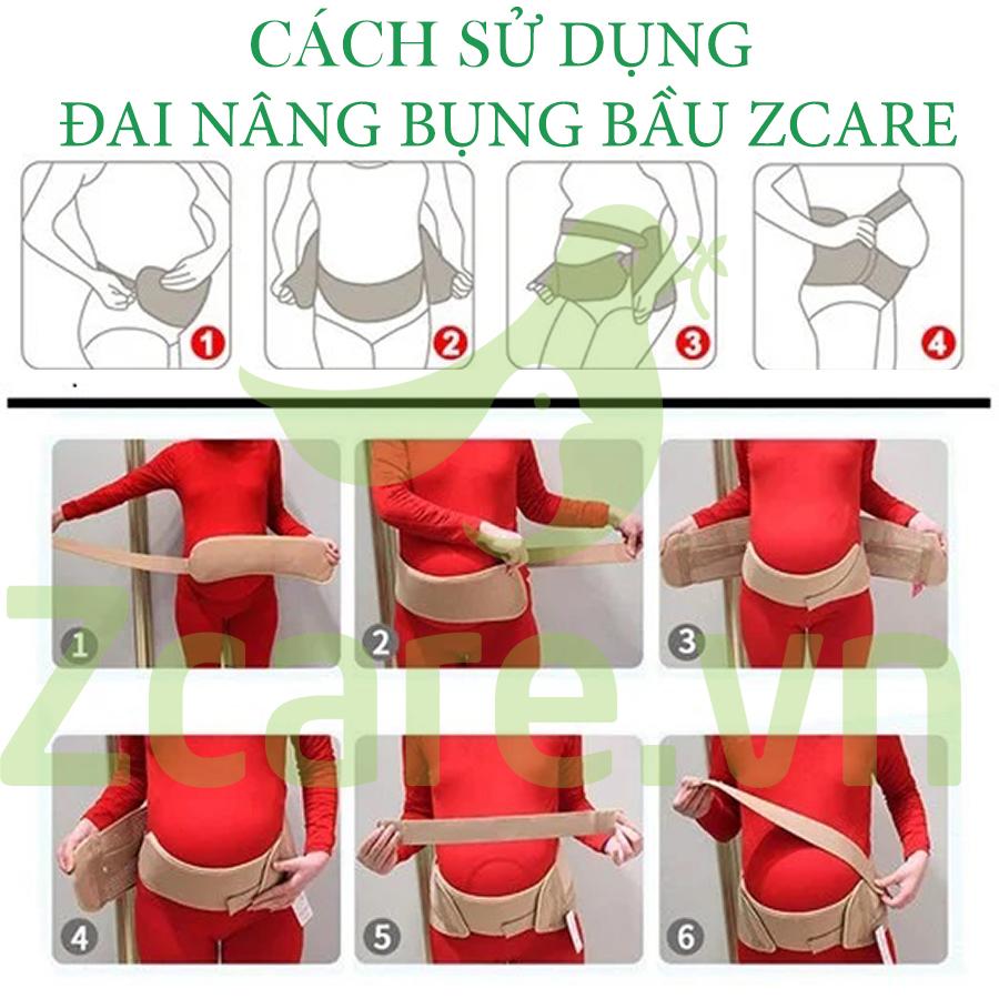 cách dùng đai nâng bụng bầu